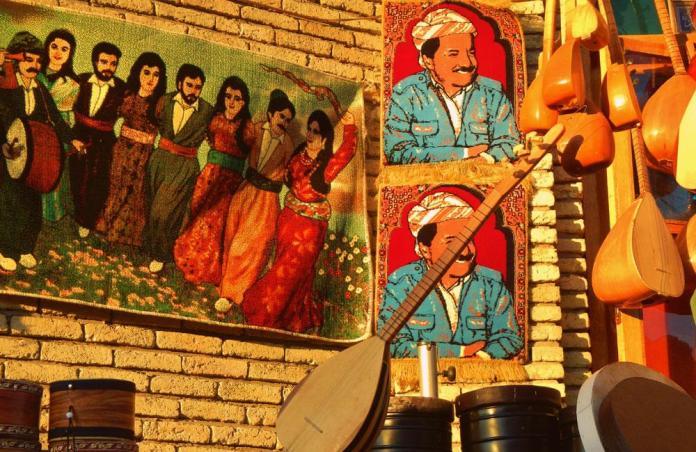 kurdish shops, erbil citadel