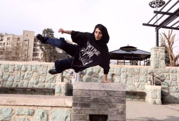 afp-iran-parkour