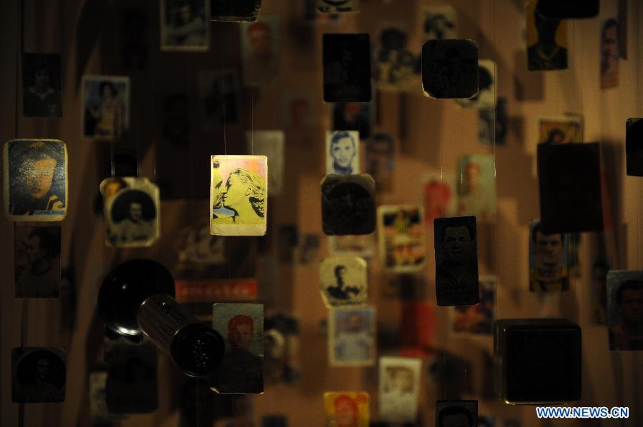 A peek inside Istanbul's Museum of Innocence.  middle ...
