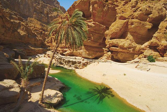 Wadi Shab pool