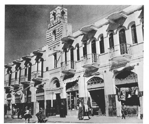 gaza street scene 1918 -