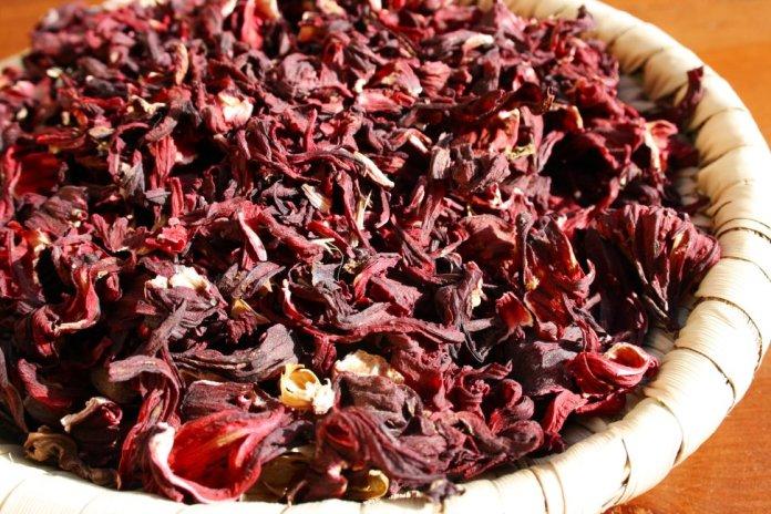 hibiscus, karkade tea