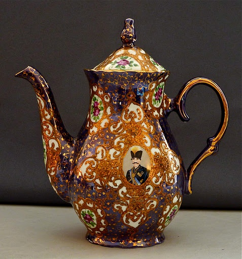 persian teaa pot