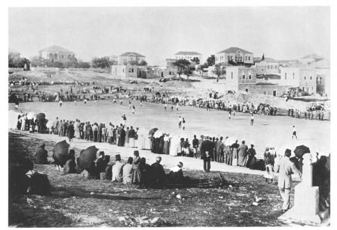 soccer match, 1897 -1918