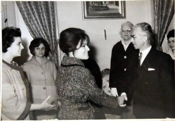 a delegation of women from alepo 1962