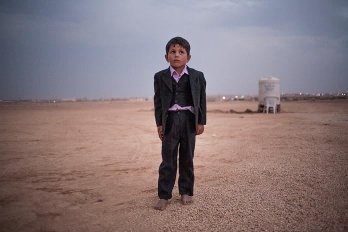 Bedouins Syriens refugies en Jordanie