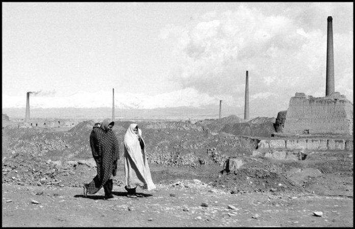 IRAN. Tehran. 1956. Industrial landscape outside Tehran.