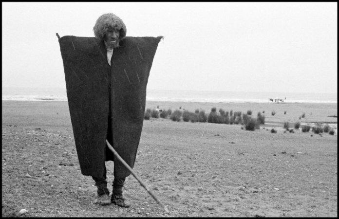IRAN. 1956. Near Rasht. Kurdish shepherd.