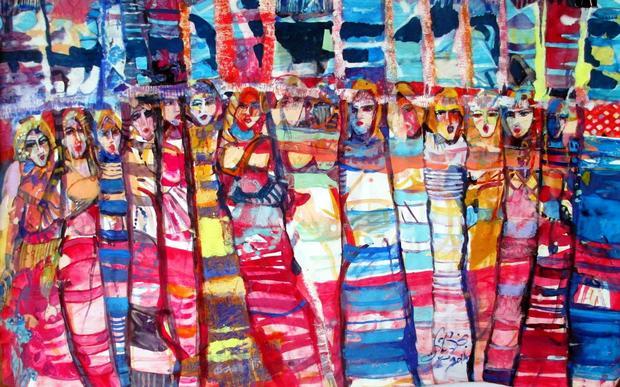 Textiles of a city Najla Shawakat Fitouri